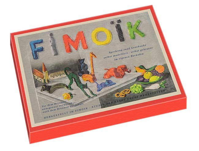 První modelovací sada Fimoik.