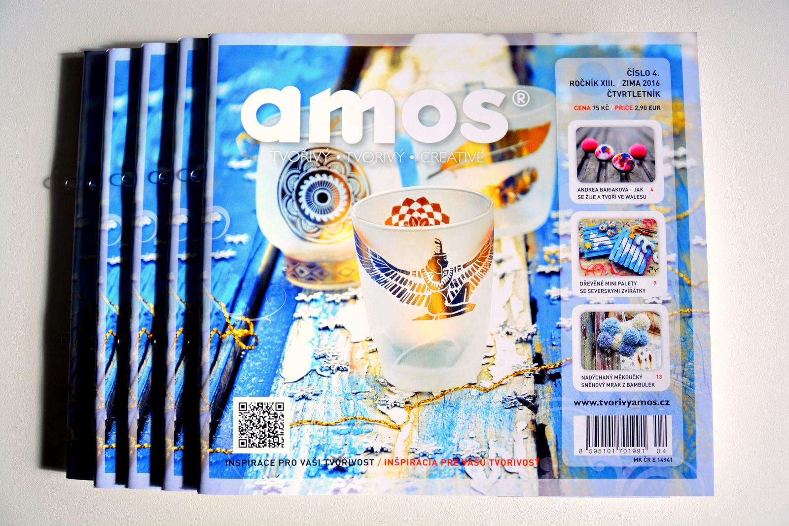 Amos v kreativním světě